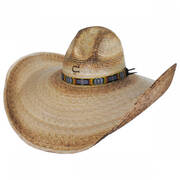 Coyote Palm Straw Gus Western Hat