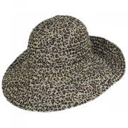 Leopard Ribbon Hat