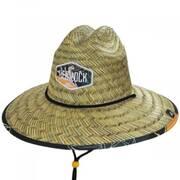 Jungle Dream Straw Lifeguard Hat