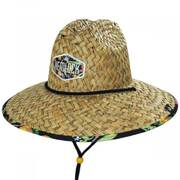 Dundee Straw Lifeguard Hat