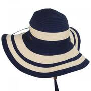 Ribbon and Toyo Straw Swinger Sun Hat