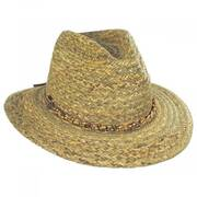 Noemi Seagrass Safari Fedora Hat