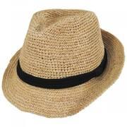 Marin Raffia Straw Fedora Hat