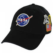 NASA Foley Strapback Baseball Cap Dad Hat