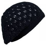 Gabby Cotton Knit Pointelle Beret
