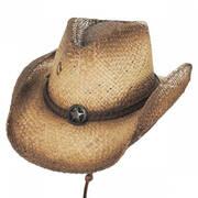 Lone Ranger Raffia Straw Western Hat
