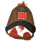 Mohawk Domo Knit Acrylic Peruvian Beanie Hat