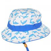 Kids' Marine Chin Cord Bucket Hat