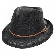 Morning Glory Raffia Fedora Hat
