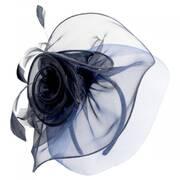 Cloverleaf Organza Mesh Fascinator Headband
