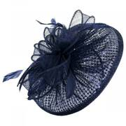 Cane Run Sequin Sinamay Straw Fascinator Headband