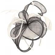 Vekoma Sinamay Straw Fascinator Hat