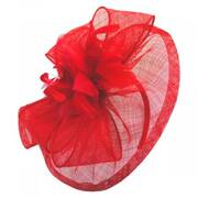 Paris Sinamay Straw Fascinator Headband