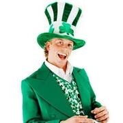Shamrock Mad Hatter Top Hat