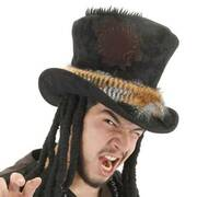 Witch Doctor Top Hat