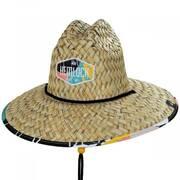 Del Rey Straw Lifeguard Hat