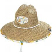 Sunrise Straw Lifeguard Hat