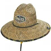 Yucatan Straw Lifeguard Hat