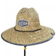 Fin Straw Lifeguard Hat