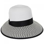 Tweed Toyo Straw Facesaver Cap
