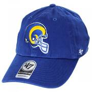 Los Angeles Rams NFL Clean Up Strapback Baseball Hat