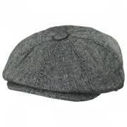 Marl Tweed Wool Blend Newsboy Cap
