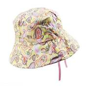 Kids' Paisley Cotton Bucket Hat