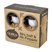 Mrs. Salt and Mr. Pepper Salt and Pepper Shaker Set