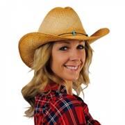 Calamity Straw Cattleman Western Hat