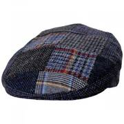 Donegal Patchwork Harris Tweed Wool Ivy Cap