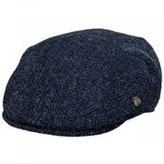 Harris Tweed Herringbone Wool Ivy Cap