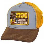 Moonshine Jamboree Cotton Trucker Snapback Baseball Cap