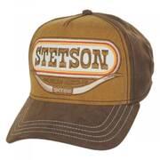 Stetson Longhorn Cotton Snapback Baseball Cap