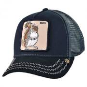 Squirrel Nuts Mesh Trucker Snapback Baseball Cap