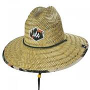 Base Camp Straw Lifeguard Hat