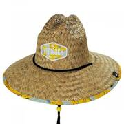 Peel Straw Lifeguard Hat