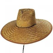 Myth Heart Palm Straw Lifeguard Hat