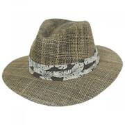Quest Seagrass Straw Safari Fedora Hat