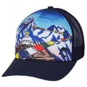 Everest Trucker Snapback Baseball Cap