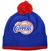 Los Angeles Clippers NBA Knit Pom Beanie Hat