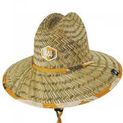 Kids' Lima Straw Lifeguard Hat