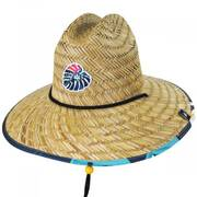 Youth Laguna Straw Lifeguard Hat