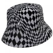 Warped Check Tropic Bucket Hat