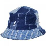 Patchwork Mashup Denim Cotton Bucket Hat
