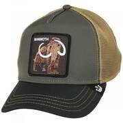 Wooly Mammoth Mesh Trucker Snapback Baseball Cap