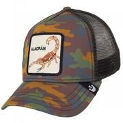 Alacran Mesh Trucker Snapback Baseball Cap