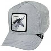 Shimmer Unicorn Mesh Trucker Snapback Baseball Cap