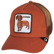 Wiener Dog Mesh Trucker Snapback Baseball Cap