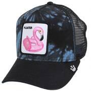 Floater Tie Dye Mesh Trucker Snapback Baseball Cap