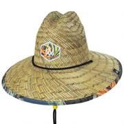 Canopy Straw Lifeguard Hat